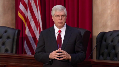 Mat Staver, founder of Liberty Counsel, produced a video encouraging pastors to lobby for political issues in church. - Credit: Liberty Counsel