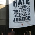 Southern Poverty Law Center banner at a conference held at the center in 2011 - Credit: StretchyBill/Flickr