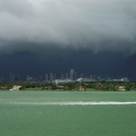 Afterrnoon T-storm approaches Miami, photo by Marc Averette/Wikicommons