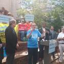 Sierra Club's Frank Jackalone speaks out against Pam Bondi's lawsuit. Liz Amelia/WMNF News.