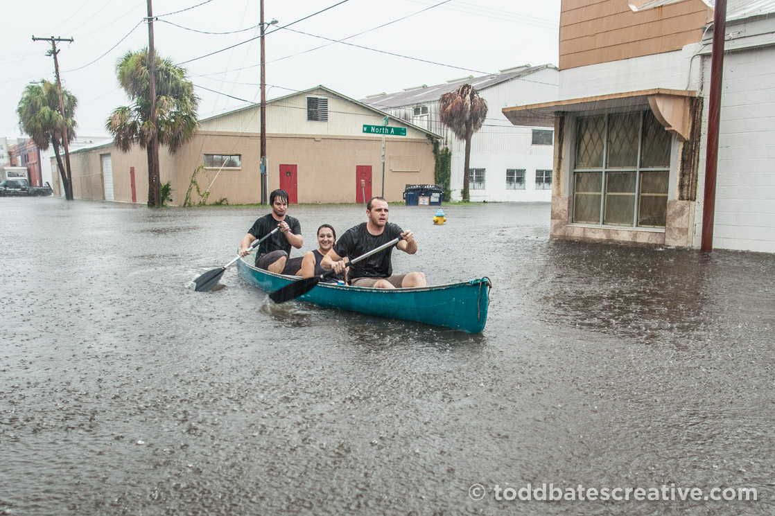 tampa flooding by todd bates