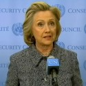 Hillary Clinton at 10 March 2015 press conference about her use of personal email while in office as United States Secretary of State. By Voice of America [Public domain], via Wikimedia Commons