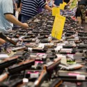 A Gun show in Houston, Texas. Photo by M&R Glasgow via flickr