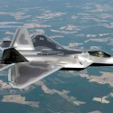 """Lockheed Martin F-22"". Licensed under Public Domain via Wikimedia Commons"