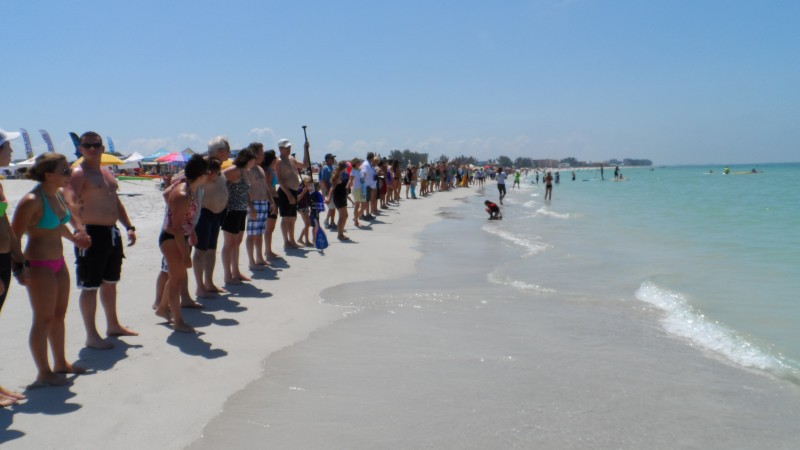 Hands Across The Sand Treasure Island