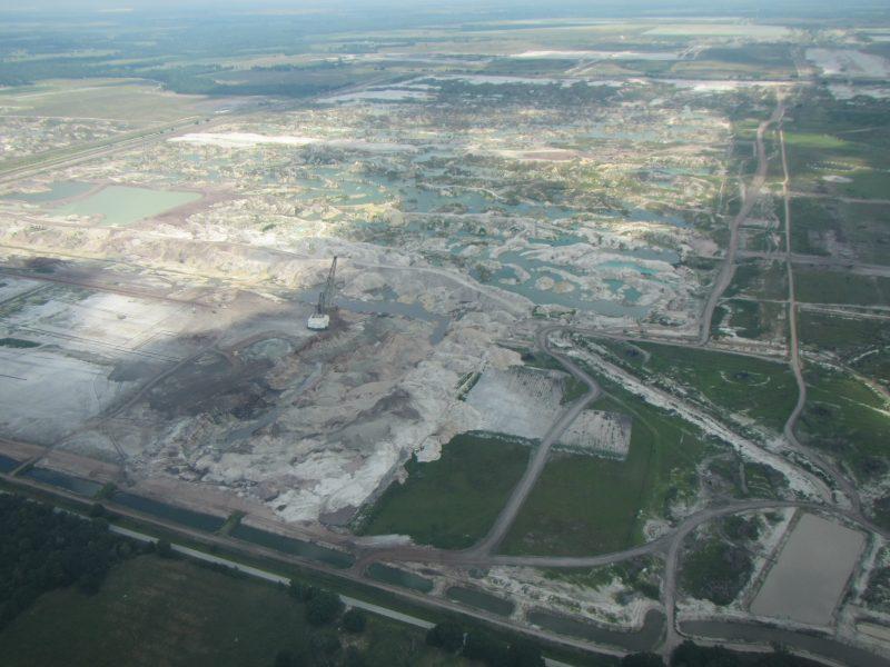Mosaic phosphate mining