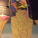 Dasic Fernandez mural in progress