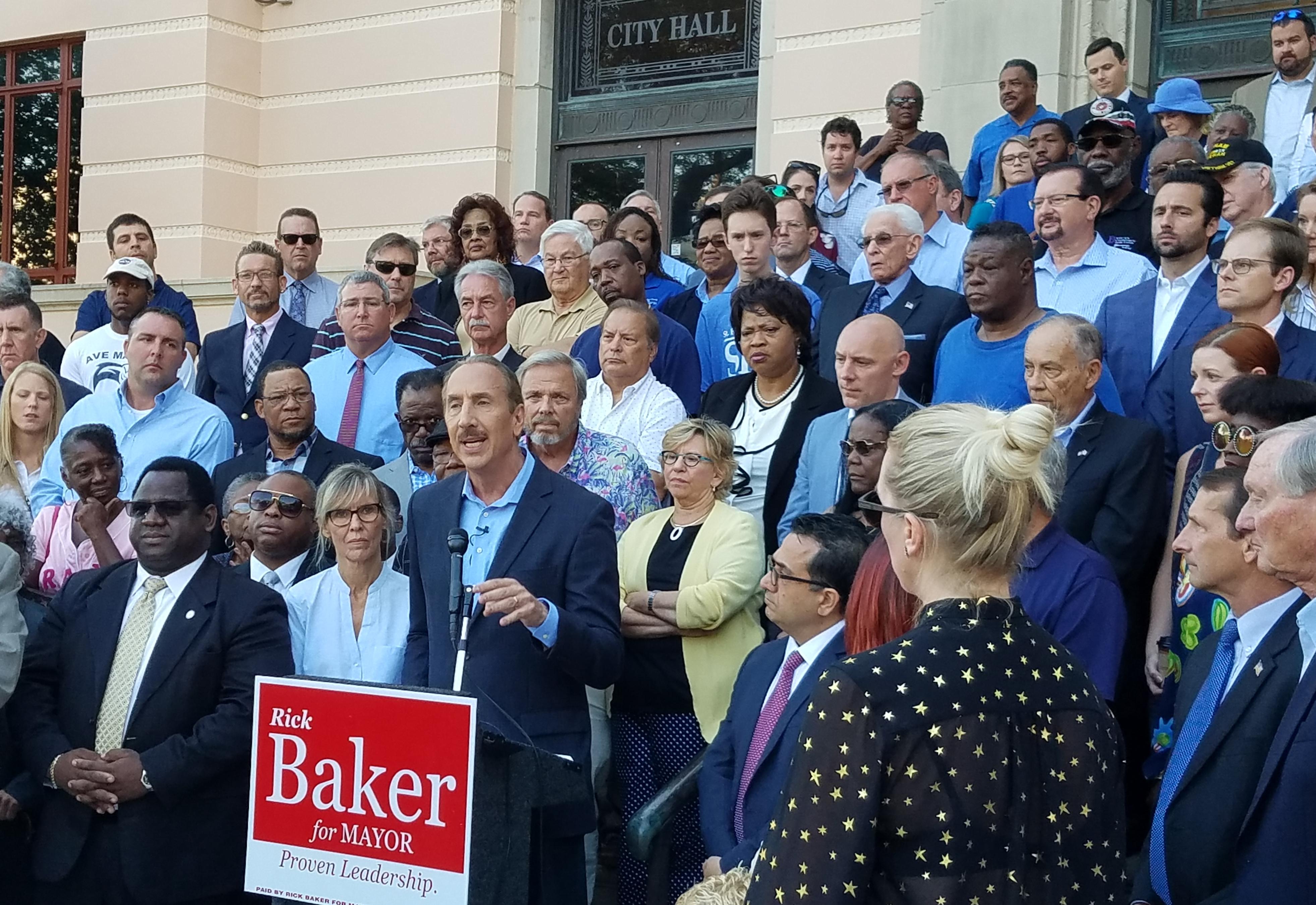 Rick Baker is running again for Mayor of St. Pete