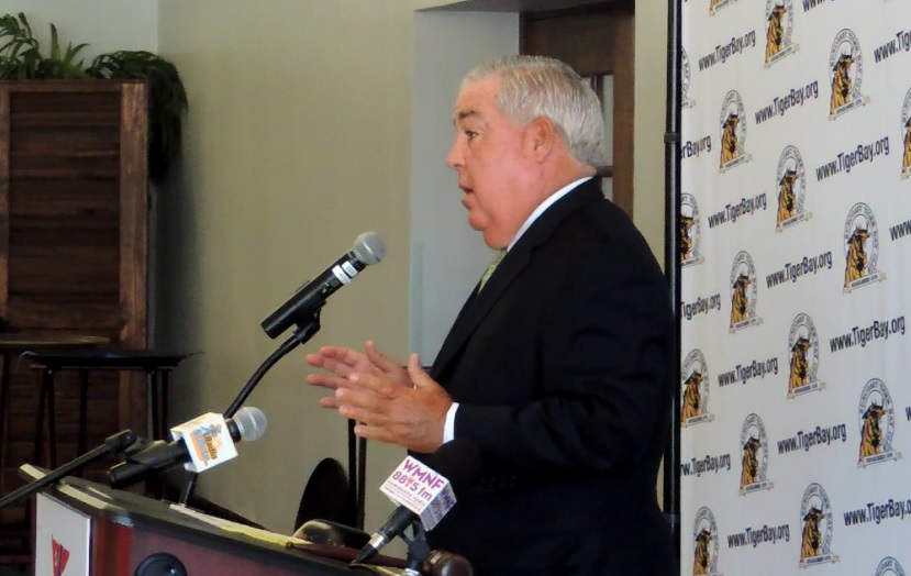 John Morgan Florida attorney governor 2018 election Suncoast Tiger Bay Club St. Petersburg