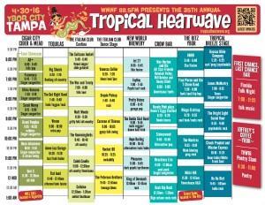 THW16 Grid Schedule