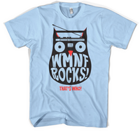 WMNF Rocks! Kids Medium T-Shirt