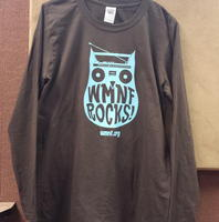 WMNF Rocks Owl Long Sleeve T-Shirt