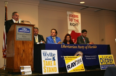 Libertarian Party of Florida 2018 election elections strategy