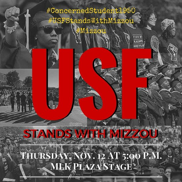 #USFstandsWithMizzou