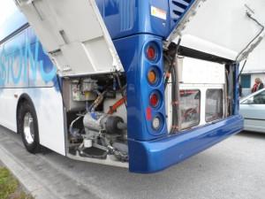 PSTA electric bus demo