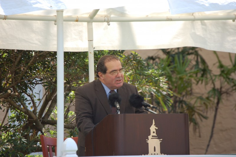 Antonin Scalia at Stetson