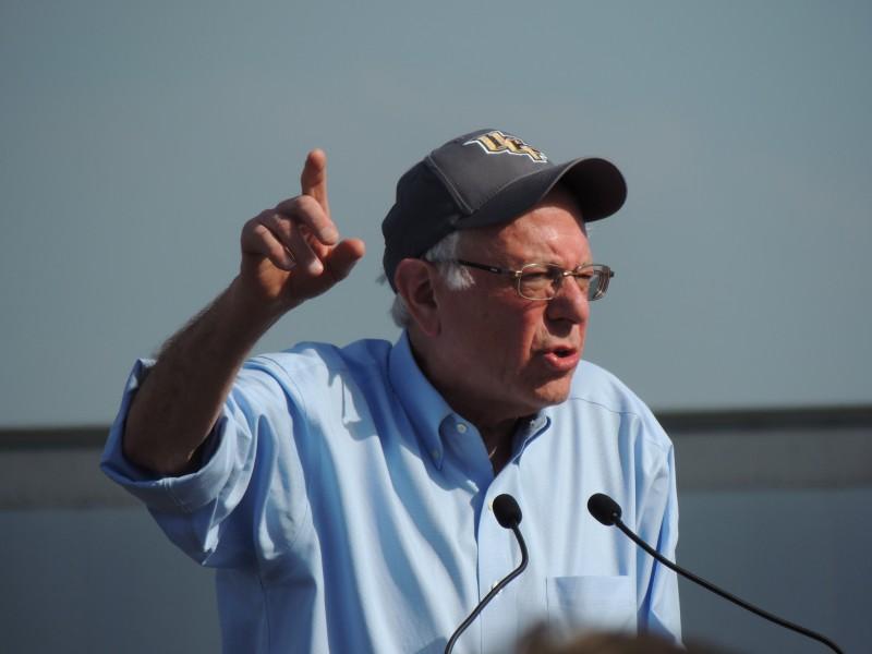 Bernie Sanders in Kissimmee, Florida. By Seán Kinane