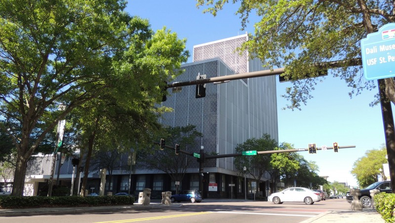cheese grater buildings st pete