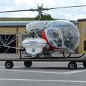 Mosquito Control fumigation helicopter