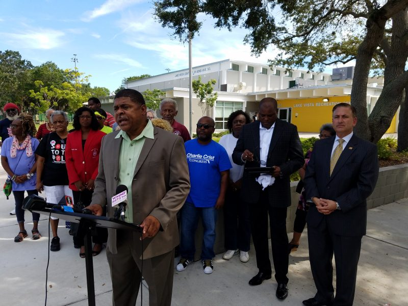 Pastors want early voting location in black community