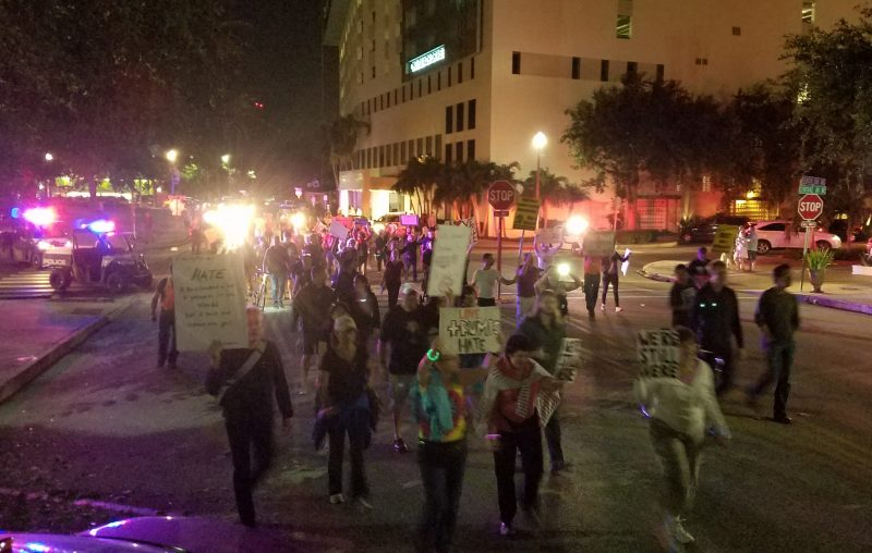 Trump protests in St. Pete