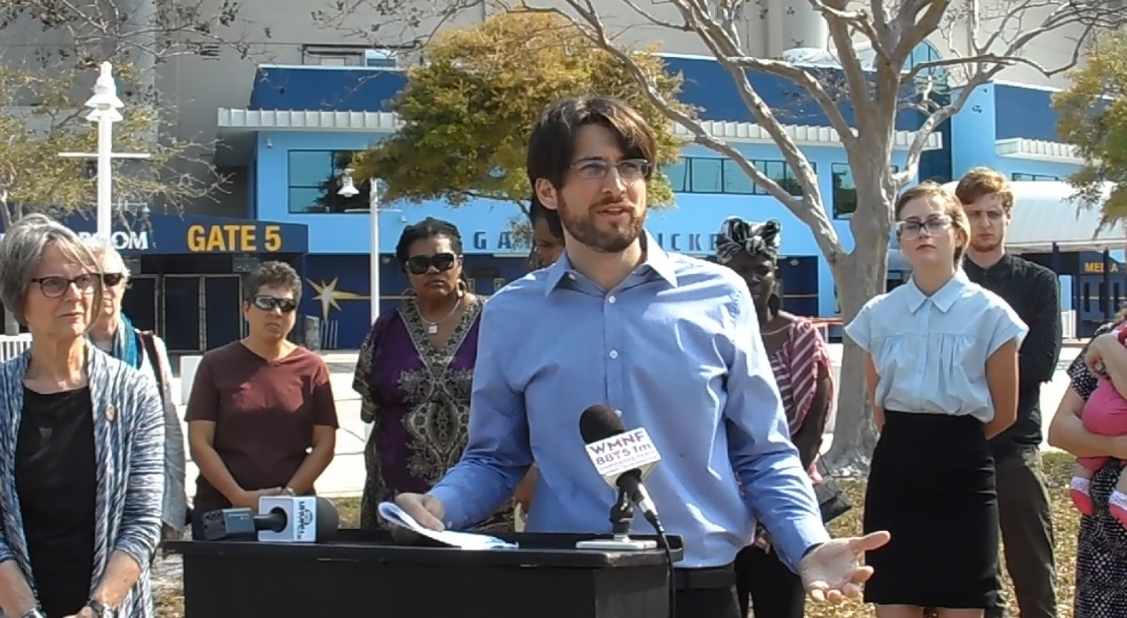 St. Pete mayor candidate announcement