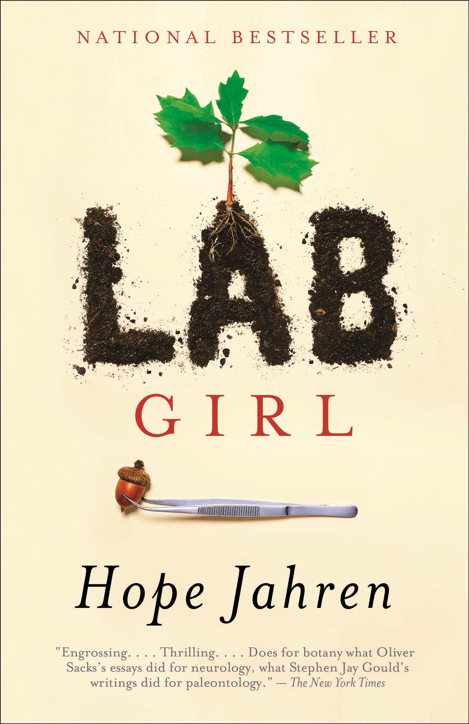 Cover of the book Lab Girl by Hope Jehren