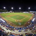 Dunedin Blue Jays Field at night