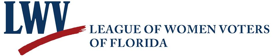 League of Women Voters of Florida logo from their facebook page