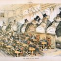 The Bosses of the Senate by Joseph Ferdinand Keppler depicting corporate power in the Gilded Age