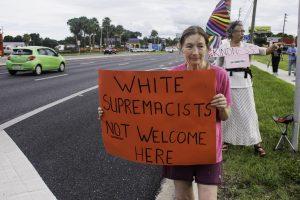 Charlottesville solidarity vigil