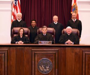 Florida Supreme Court justices, 2017.