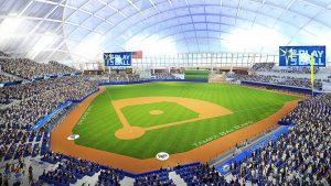 Tampa Bay Rays Ybor stadium