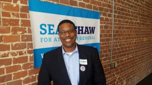 Sean Shaw on Primary Election Day, 2018