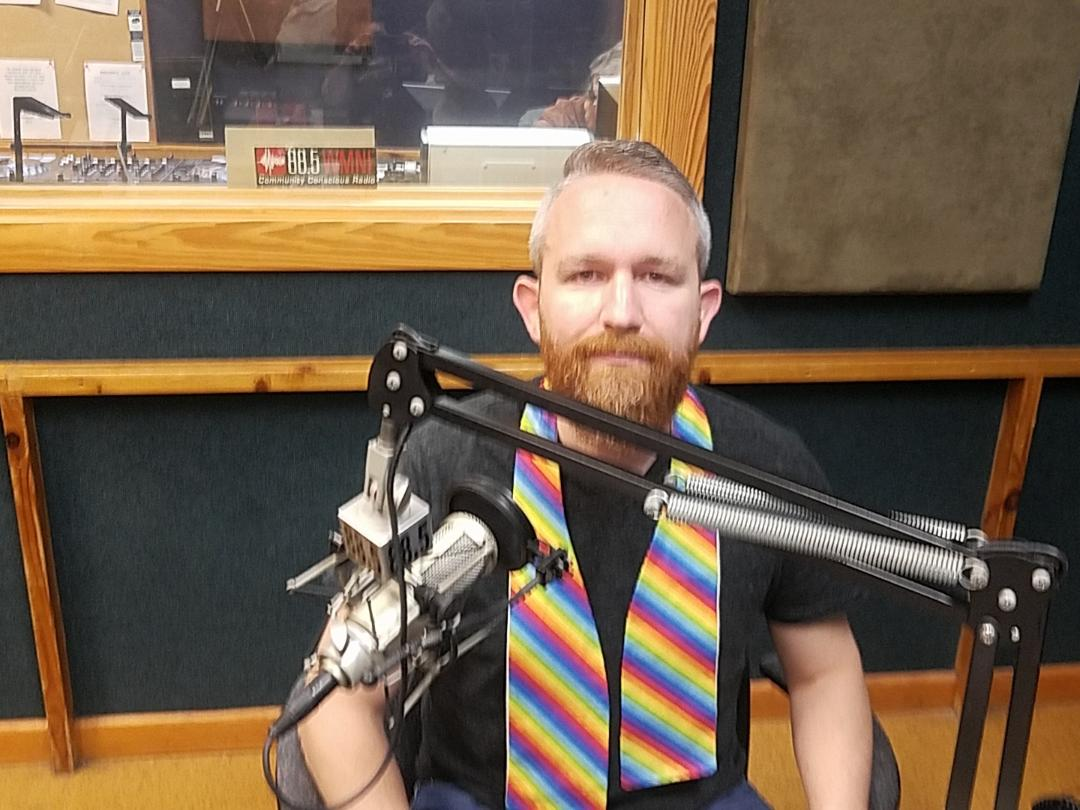 Rev. Andy Oliver of Allendale United Methodist Church, supports LGBTQ rights