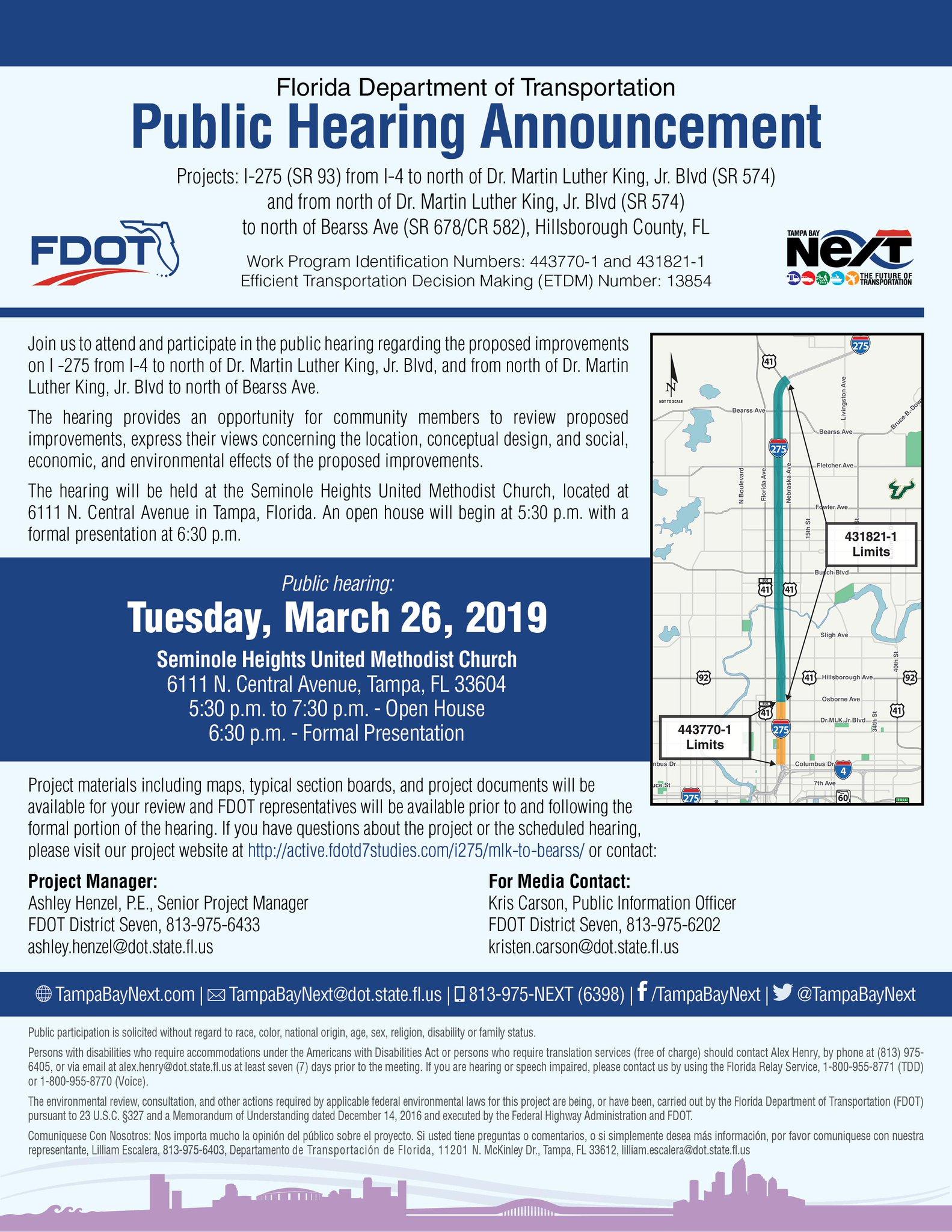 Tampa Bay Next, TBX, FDOT