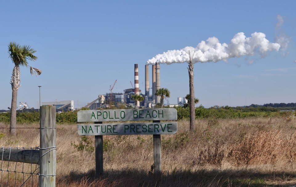 Tampa Electric Apollo Beach Big Bend Power Station CO2