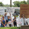 #CloseTheCamps demonstration in Tampa