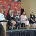 WMNF photo: Tampa Tiger Bay Club debate on Florida sex education
