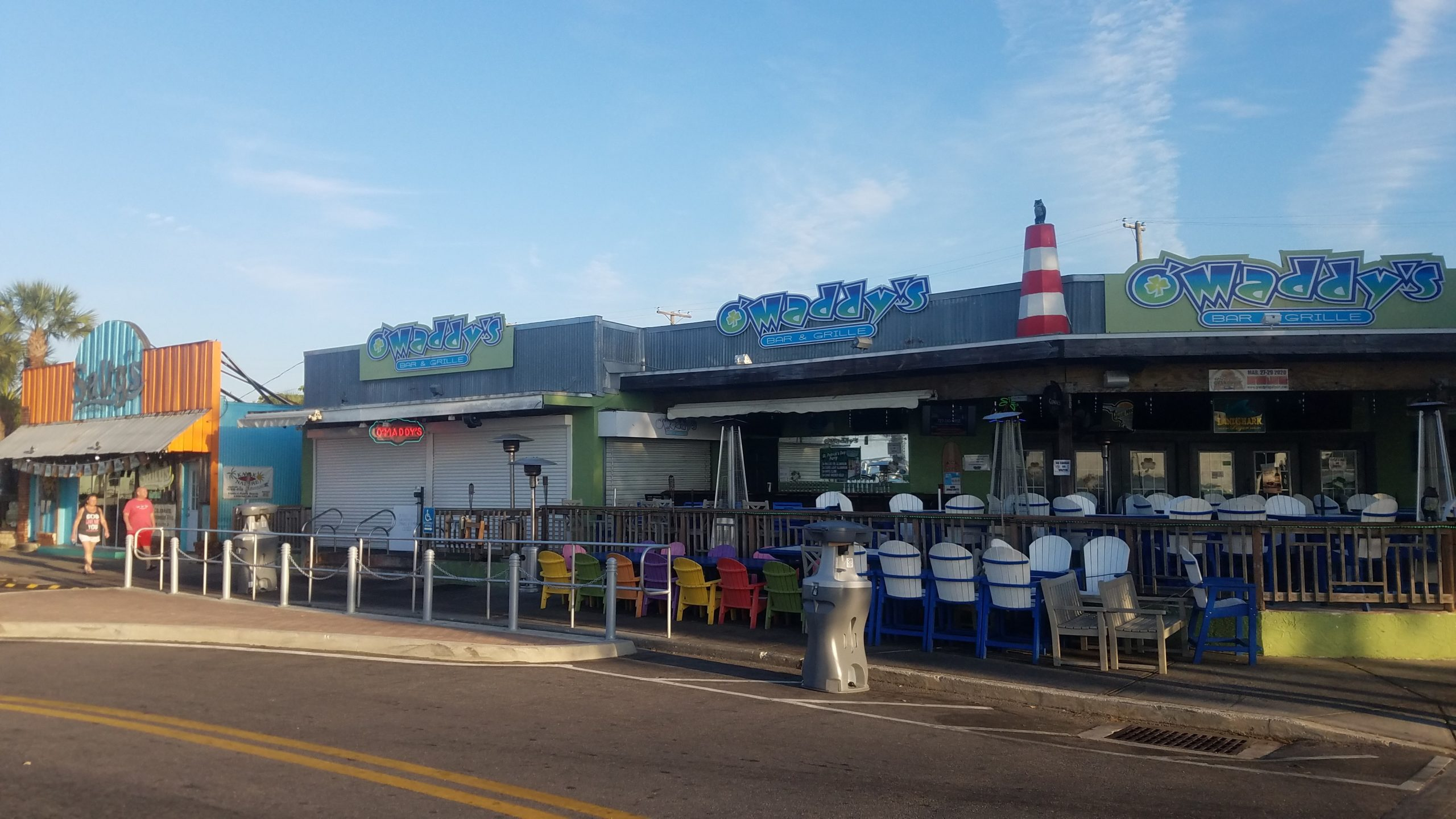 O'Maddy's and Salty's in Gulfport, Florida