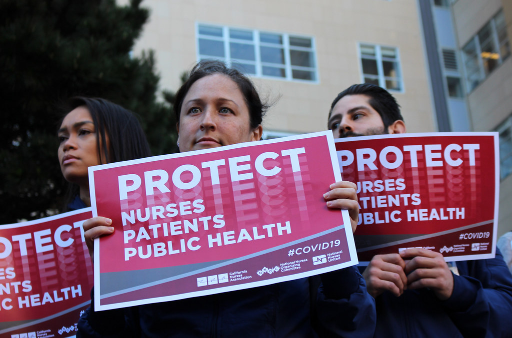 coronavirus concerns from National Nurses United
