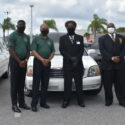 Representatives from Gudedas and Ray Williams funeral homes