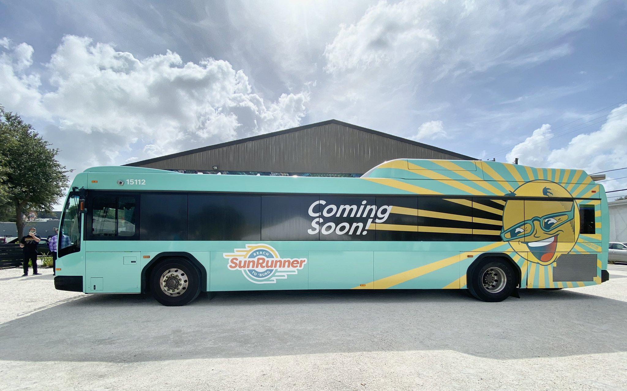 bus rapid transit BRT St. Petersburg, Florida