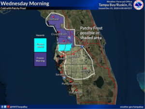 cold weather shelters Tampa Bay