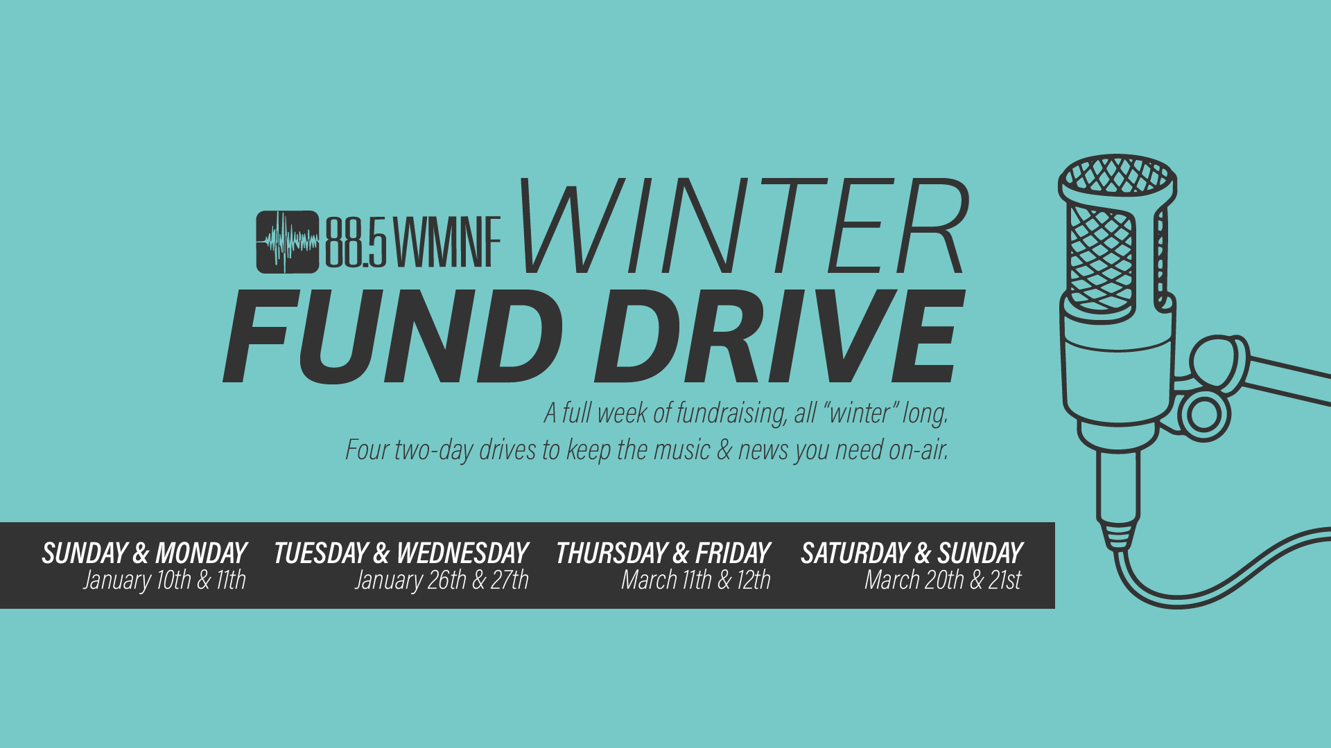 WMNF Winter Fund Drive