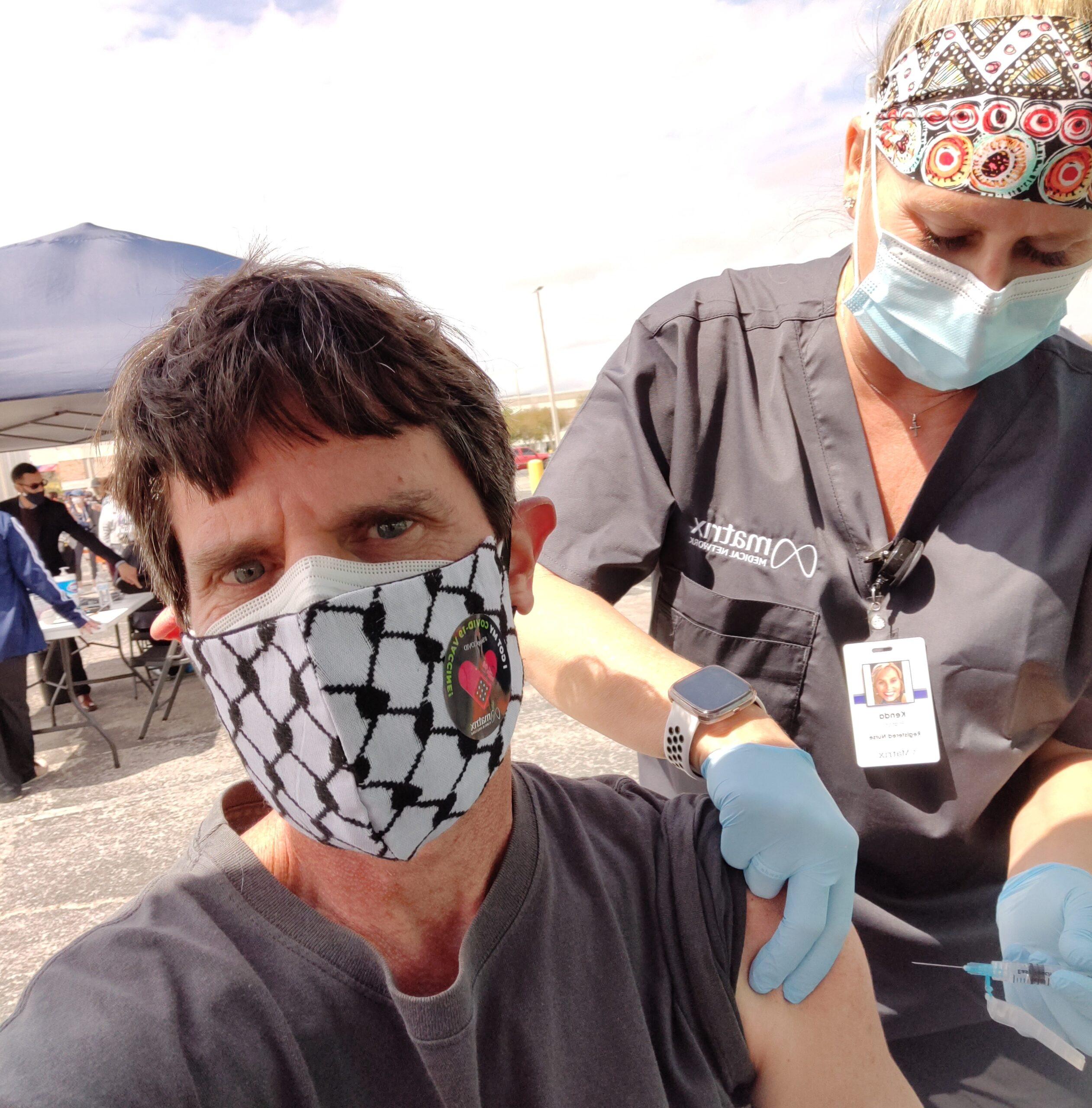 Coronavirus vaccine. COVID-19 vaccination. Matrix. Janssen. Johnson & Johnson. Tampa