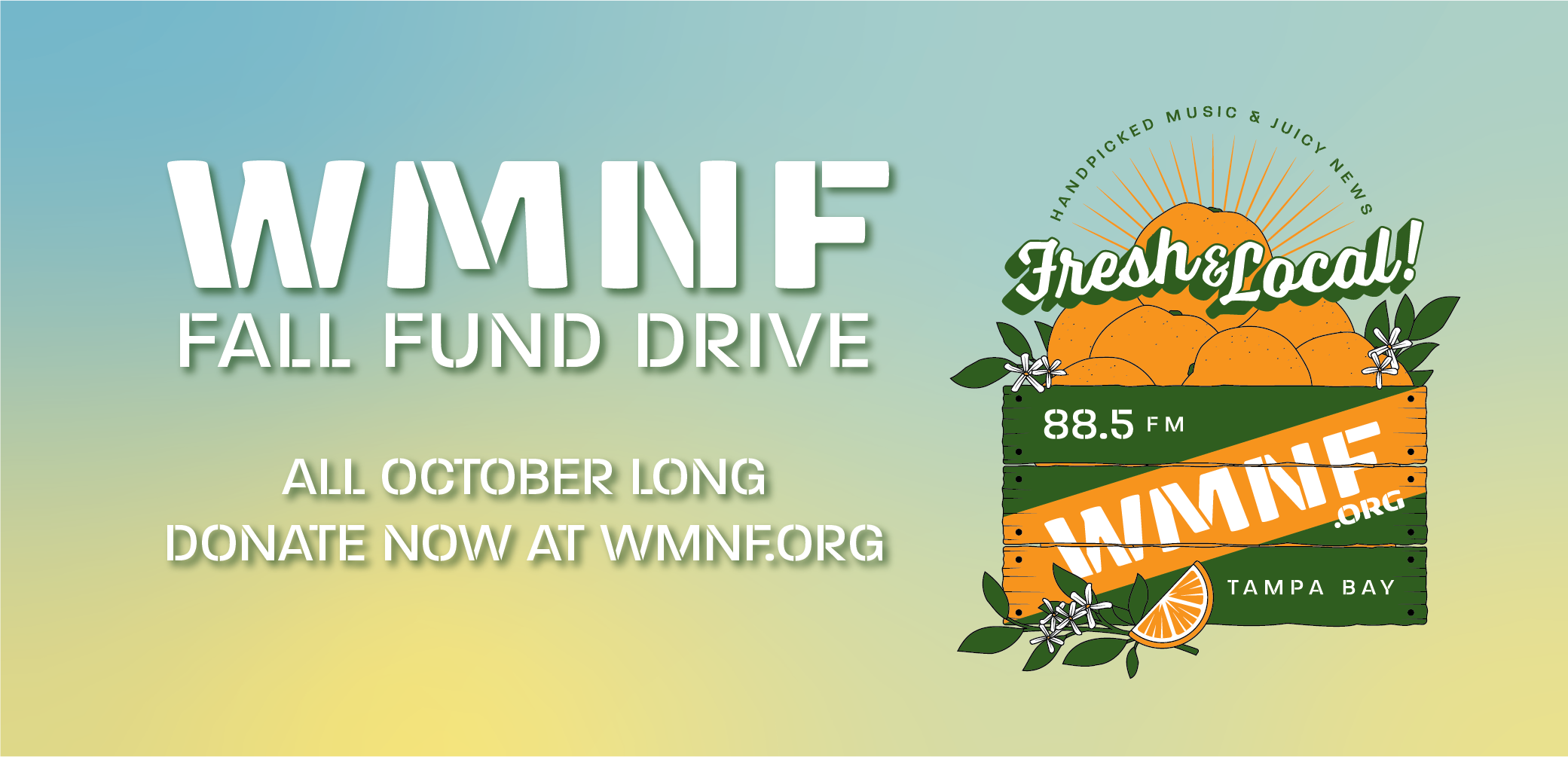 WMNF 2021 Fall Fund Drive